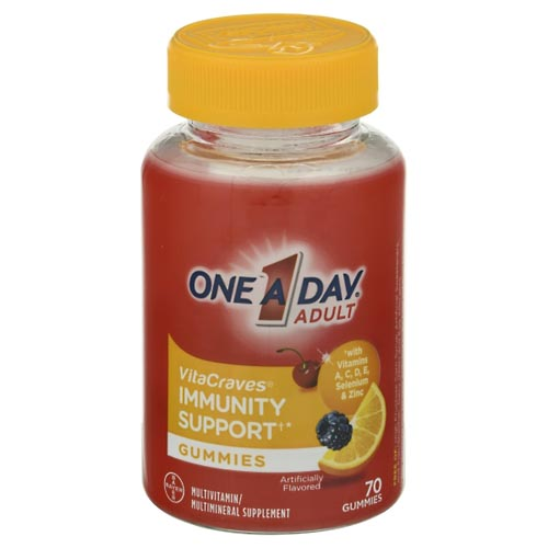 Image for One A Day Multi, Immunity Support, Gummies 70 ea from Mikes Pharmacy