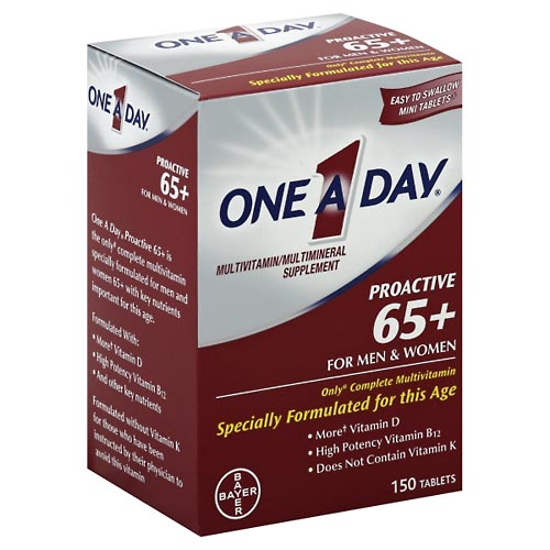 Image for One A Day Proactive 65+, For Men & Women, Tablets 150 ea from Mikes Pharmacy