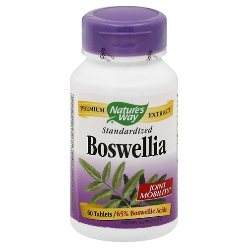Image for Natures Way Boswellia, Standardized, Tablets 60 ea from Mikes Pharmacy