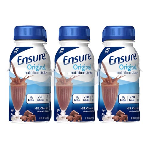 Image for Ensure Nutrition Shake, Original, Milk Chocolate 6 ea from Mikes Pharmacy