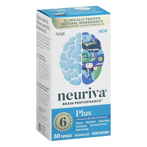Image for Neuriva Brain Performance, Plus 30 ea from Mikes Pharmacy