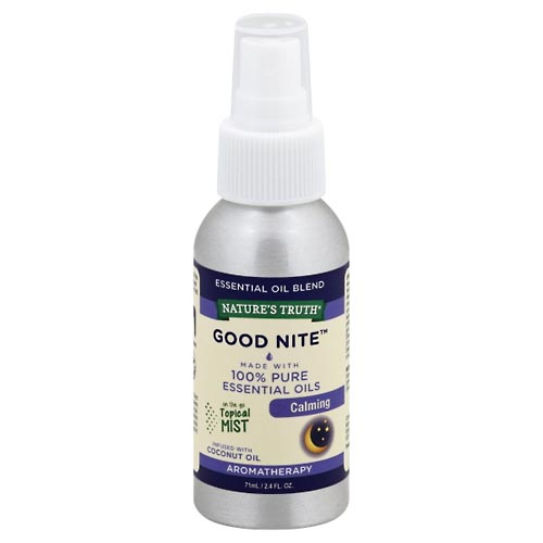 Image for Natures Truth Essential Oil Blend, Good Nite, Calming 71 ml from Mikes Pharmacy